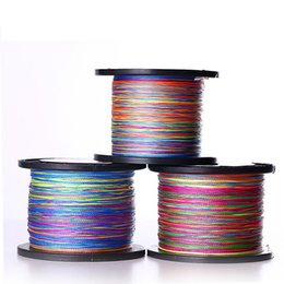 Wholesale Boat Outlet - Factory outlets Multicolor 500M PE Sea Fishing Mainline Fishing Line Ultra high tensile strength high wear Braid Line