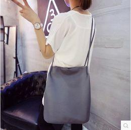 Wholesale Cheap Female Handbags - Wholesale-2016 Women Handbags Big Shopping Shoulder Bags Female Bucket Leather Messenger Bag Cheap Fashion Ladies Crossbody Bolas
