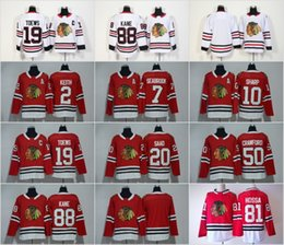 Wholesale Flash Cotton - 2018 Chicago Blackhawks 88 Patrick Kane 2 Duncan Keith 19 Jonathan Toews Crawford Marian Hossa Brandon Saad Sharp Seabrook Stitched Jerseys