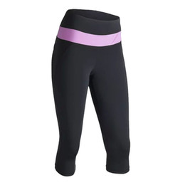 Wholesale Exercise Clothing For Women - Wholesale-hot sell womens clothing black womens sports wear for yoga women yoga pants for gym fitness exercise size s-xl