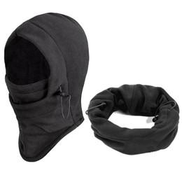 Wholesale Wool Balaclava - Wholesale-Winter Windproof Face Beanies,Men Warm Thermal Fleece Balaclava Skullies Cap,Ski Bike Motorcycle Neck Warmer Helmet Hat