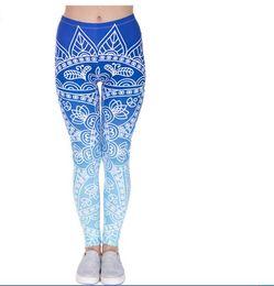 Wholesale Mixed Apparel - Wholelsales Fashion Women leggings 3D Printed color legins Ray fluorescence leggins pant for Woman Yoga Outdoor Apparel