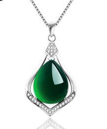Wholesale S925 Jade Pendant - wholesale necklace torque pendant S925 nature pure calcedony jade carnelian DE lady new arrive France IT Roma Dimond women Paris EU US