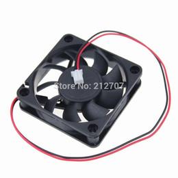 Wholesale 24v Cooler Fans - Wholesale- 1pcs Gdstime 6015 24V 2Pin DC Cooling Cooler Fan 6cm 60mm 60x60x15mm