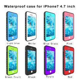 Nuevo pimiento rojo a prueba de agua a prueba de golpes a prueba de nieve de la suciedad a prueba de nieve para Apple iPhone 7 4.7 pulgadas BH0012A17 desde fabricantes