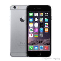 "Wholesale Smartphone Refurbished - 100% Original Refurbished Apple IPhone 6 support real 4G real fingerprinter 16GGB 64GB IOS phone 4.7"" i6 Smartphone DHL free"