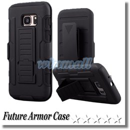 Wholesale Future Iphone - Iphone 6s Case Future Armor Case Impact Hybrid Robot S7 Case With Belt Clip Holster Kickstand Combo Case LG G Stylo LS770 Opp Package