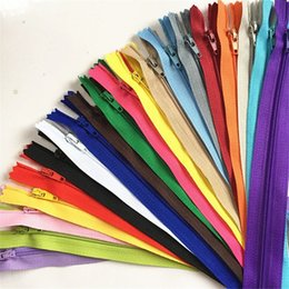 Wholesale Tailor Wholesale Clothing - Mix Nylon Coil Zippers Tailor Sewer Craft 9.8 Inch For Crafts Costume Designing Clothing free shipping