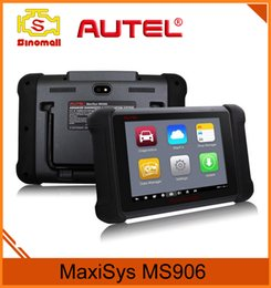 Wholesale Rear Camera For Bmw - Original Autel MaxiSYS MS906 professional diagnostic tool Built-in 8-megapixel rear camera with autofocus and flashlight Autel MS 906