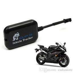 Wholesale Motorcycle Bike Gps - Mini Vehicle Motorcycle Bike GPS GSM GPRS RealTime Tracker Monitor Tracking G00240