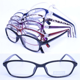 Wholesale Wholesale Colorful Optical Frames - Wholesale- 20pcs a lot wholesale colorful 78188 injection acetate rectangle shape lightweight optical eyeglass frames
