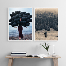 Wholesale Home Decoration Images - Modern landscape and animal prints, fashion and elegant painting living room wall image home decoration, no frame SID057