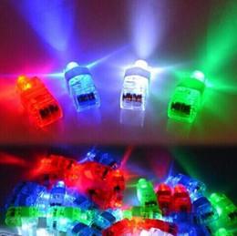 Wholesale High Quality Favors - Adult children LED Finger Lamp LED Finger Ring Christmas Party Favors Gift Glow Rings Children'Day High Quality Finger Toys