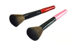 Wholesale Makeup Blusher Products - NEW Cosmetic Brush Cosmetic Products Makeup Tools Wood Brush Man-made Fiber Accessories 6 Color 13CM