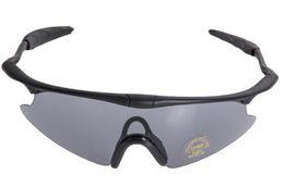 Occhiali da tiro tattici online-All'ingrosso-2015 Tactical Shooting Glasses Protective Eyewear UV400 Protective Goggle Cycling