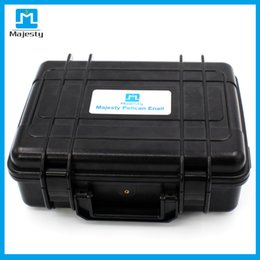 Wholesale Thermal Box Free Shipping - Thermal coTitanium nail New USA and EU market Majesty Pelican Case Dnail Temperature Controller Box Dnail with coil heater DHL free shipping