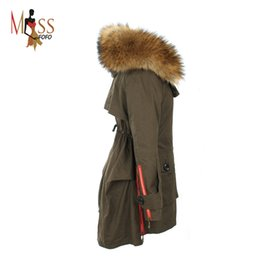 Wholesale Women S Clothing Winter Large - Wholesale-TOP quality new 2016 winter jacket women's parkas army green Large fur collar hooded casual coat woman outwear loose clothing