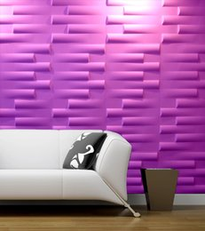 Wholesale Stickers For Walls China - China plastic 3D wall tile decorative wall panels 3d board