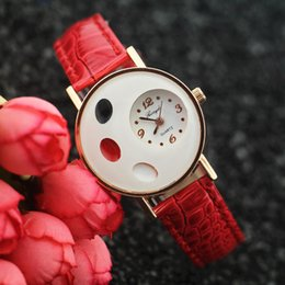 Wholesale White Quartz Price - Free Shipping!Factory price,Gold plating alloy round case,oval design on case,quartz movement,Gerryda fashion woman lady quartz watches