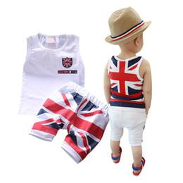 Wholesale Vest Colour - Wholesale- Toddler Baby Girls Cotton Vest Top Clothes + Pants Shorts 2Pcs Suit Outfit Sets