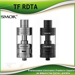 Wholesale S2 Original - Original Smok TF-RDTA Tank 5ml TF RDTA Atomizer S2 Deck Dual-Post Velocity Style 100% genuine SmokTech DHL Free 2218023