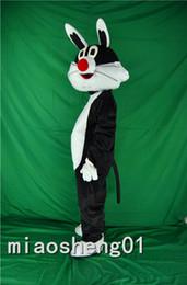 Wholesale Costume Halloween Mascotte - rabbit bunny mascot costume cartoon character custom fancy dress carnival Christmas Halloween party mascotte anime kits