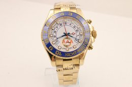 Wholesale Watch Movement Factory - Factory Seller New Luxury AAA 40mm 18K Gold Stainless Steel 116681 Mens Automatic Mechanical Movement sapphire Watch Mens WristWatches