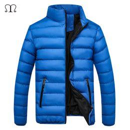 Wholesale Parka Style Waterproof Jacket - Wholesale- 2016 Winter duck Down Coat ultralight Thick Warm Jacket for Men Waterproof Parkas Hooded Coat high quality Western style 5XL
