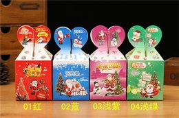 Wholesale Eve Style - 2 style Christmas Eve apple box Christmas box 2016 Christmas apple box Holiday articles A Christmas present hot selling
