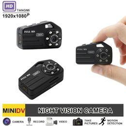 Wholesale Door Peephole Camera Motion Detection - TANGMI S3 Full HD 1080P Micro Video Camera Night Vision with Motion Detection Sensor Portable Door Peephole Mini Camera
