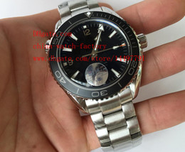 Wholesale Diver Watch Mechanical - Luxury High Quality JH Factory 42mm Ceramic Stainless Steel Planet Ocean Co-Axial Asia 8500 Movement Automatic Mens Watch Watches