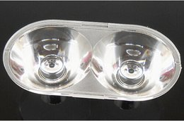 Wholesale Cleaning Headlights - Wholesale-VCXD-35.5 High quality LED Lens, Headlight lens, Size: 35.5X19X10.75mm, Suitable for: CREE XML, 16 degree, Clean surface, PMMA