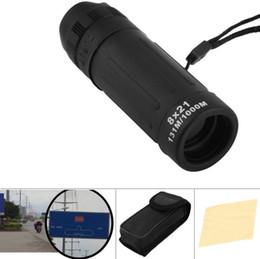 Wholesale Compact Monocular - 8x21 Mini Travel Monocular Telescope Tourism Scope Outdoor Survival Hunting Pocket Compact Monocular Telescopes Telescop OOA2524