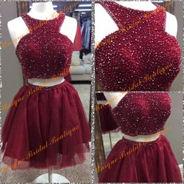 Wholesale Sparkle Beaded Dress - 2k16 jvnbyjovanifashions Sparkle Homecoming Dresses with Art Deco-inspired Neck and Major Beading Bodice Real Picture Beaded Crop Top Gowns