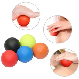 Wholesale Wholesale Exercise Balls - Wholesale-Gym Crossfit Fitness Massage Lacrosse Ball Therapy Trigger Full Body Exercise Sports Yoga Balls Relax Relieve Fatigue Tools