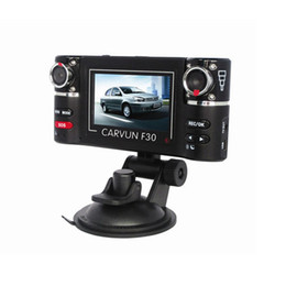 Wholesale Hd Vehicle Dvr Camera - S5Q HD Car DVR Camera Vehicle DVR Dual Lens Dash Cam Video Recorder Night Vision SOS AAADKL