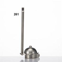 Wholesale Cut Cap Hat - Universal Gentleman Or Baseball Hat Titanium Carb Cap With Scraper Handle Nail Top Ti Nails Bowl Diameter 22.4mm 261