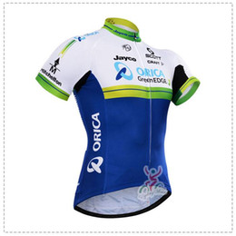 Wholesale Scott Bike Clothing - Short Sleeves Cycling Jerseys ORICA GREENEDGE Bike Shorts with Gel High-grade Pad Bicycle Ropa Ciclismo Scott Clothing