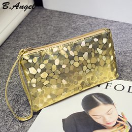 Wholesale Bling Phone Wallets - 6 Color High quality Bling Stone Pattern Phone Cash Purse Wallet Elegant clutch purse Cell Phone Pocket Credit Card Coin Purse Pocket