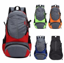 Wholesale Vintage Hiking Backpacks - Vintage Adjustable Unisex Nylon Rucksack Shoulder Bags For Outdoor Camping Hiking Bicycle Sports Backpack Laptop Bag