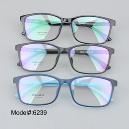 6fefb95304 Wholesale- 6239 Color square unisex prescription eyewear myopia glasses RX optical  frames spectacles