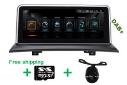 Wholesale Dvr X3 - DAB+(optional) 10.25inch Android 4.44 Car Dvd Gps for BMW X3 E83 2004 2005 2006 2007 2008 2009 support all original function DVR wifi map