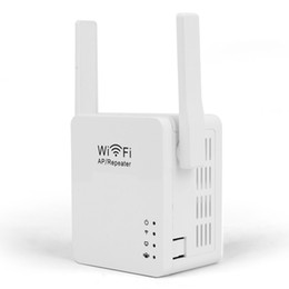 Wholesale Ap Repeater Mode - Hot new USB WiFi Repeater WiFi Range Extender with Micro USB2.0 Port 5V 2A Support Booster and AP Mode EU US UK AU Plug