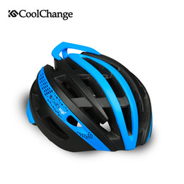 Wholesale Professional Mountain Bikes - CoolChange mountain bike helmet equipped with integrally male and female cycling helmets bicycle helmets Riding gear head professional sport