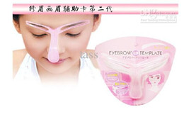 Wholesale Professional Eyebrow Shaping Tools - Eyebrow Shaper Template Brow Stencil Shaping Tool,Perfect Professional Eyebrow Template
