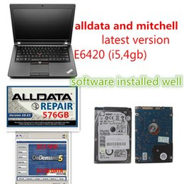 Wholesale Yamaha Software - Newest auto software alldata 10.53 and mitchell on demand 5.8 installed well in 1tb hdd win7 fit in E6420 i5 laptop