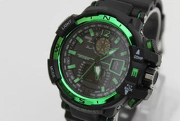 Wholesale Sport Climbing Watch - Wholesale 2016 High Quality G Sports Waterproof Watches GW A1100 S Shock Mens Climbing LED Watch Hombre