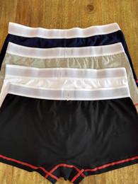 Wholesale Calzoncillos Boxer Wholesale - 4pcs lot Comfortable Cheap Cotton boxers Calzoncillos Hombre Boxer Marca Men Sexy Underwear Wholesale Free Shipping