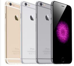 "Wholesale Lte Dual Wcdma - Original Unlocked iPhone 6 iphone 6 Plus Dual Core 4.7""5.5''1GB RAM 16GB 64GB 128GB ROM 8MP 1080p Multi-Touch WCDMA 4G LTE phone"