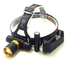 Deutschland CREE XML-T6 LED 2000 Lumen 5-Mode-Tauchen Wasserdicht Tauchen Scheinwerfer Scheinwerfer Unterwasser-Taschenlampe mit Akku und Ladegerät Versorgung